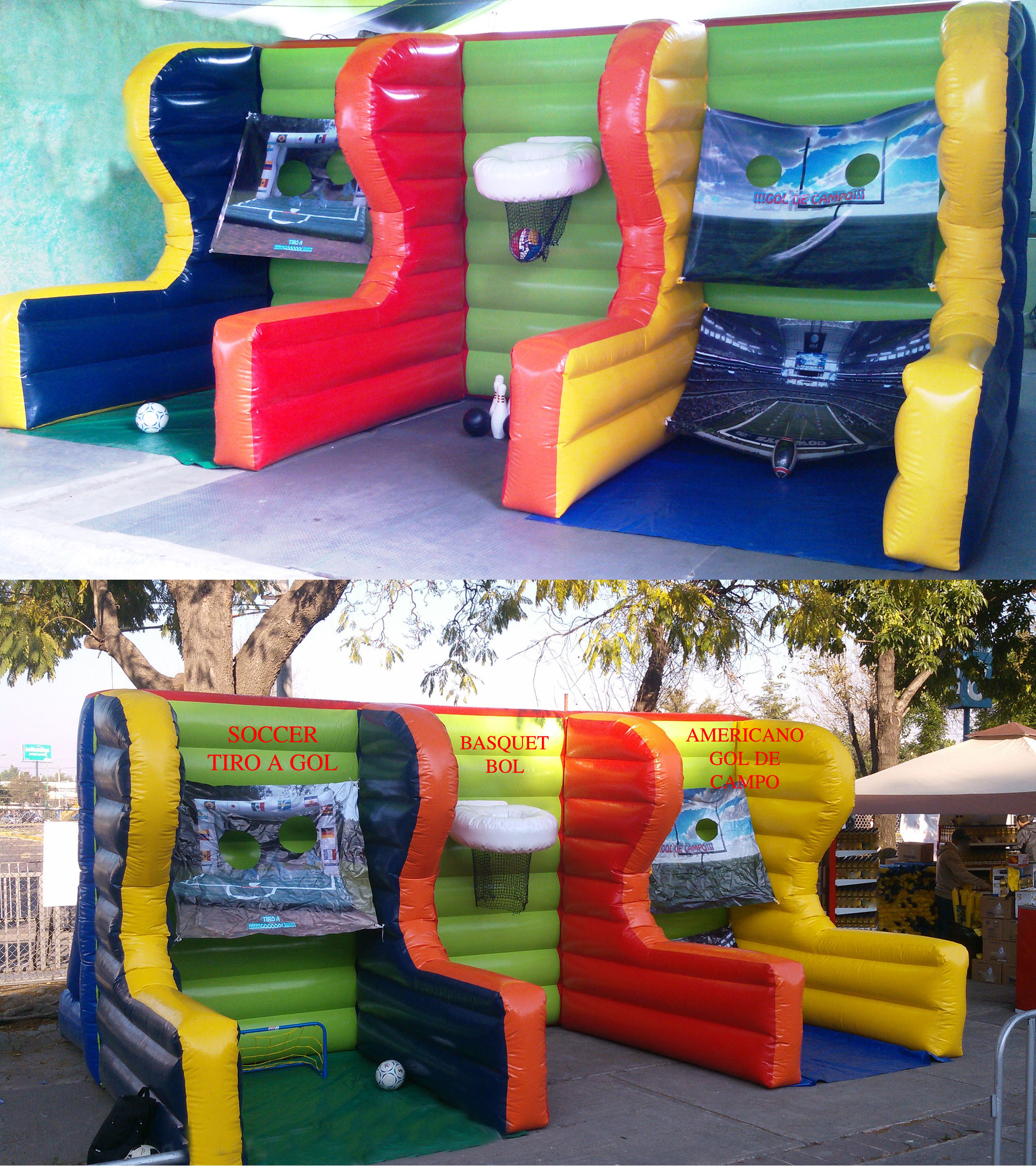 DESTREZA INFLABLE